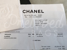 "SOLD - Chanel 12"" Black Lambskin Double Flap Jumbo Bag with Gold Hardware - PrelovedBags Chanel"