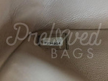 "SOLD Chanel 10"" 2.55 Beige Lambskin Double Flap Double Chain Shoulder Bag with Gold Hardware. - PrelovedBags Chanel"