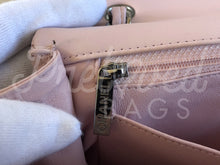 "SOLD - Chanel 13.38"" Jumbo Pink Lambskin Leather XL Maxi Double Flap Bag Silver Hardware - PrelovedBags Chanel"