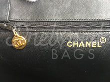"SOLD - Chanel 16.14"" Black Leather Jumbo Shoulder Shopping Tote Bag 24 Carat Gold Plated Hardware. - PrelovedBags Chanel"