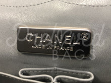 "Chanel 12"" Jumbo Reissue Beige Python Double Flap Bag with Silver Hardware - PrelovedBags Chanel"