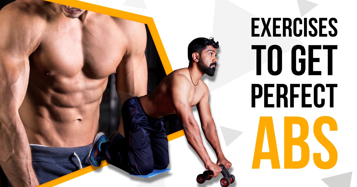 6 exercises to get perfect abs using abs roller at home