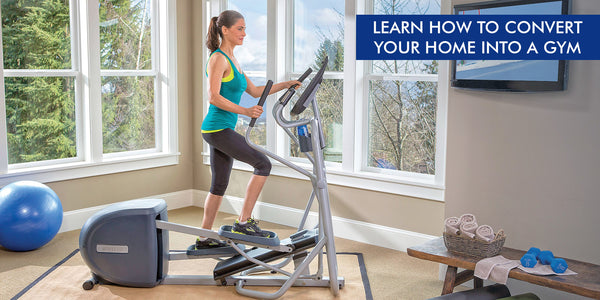 Learn How to Convert Your Home into GYM
