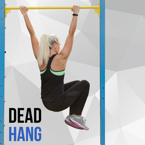 Dead hang using Pull up Bar
