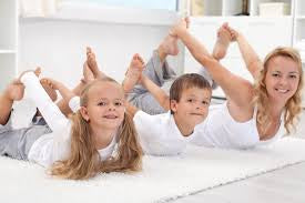 Exercise during quarantine with kids