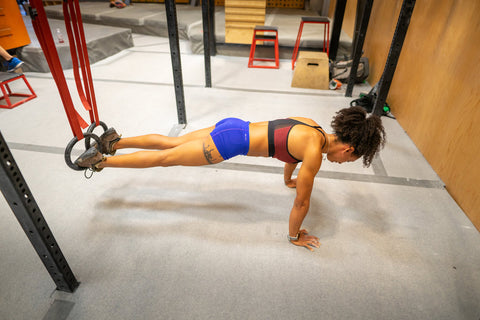 Gymnastic Rings fitness workouts