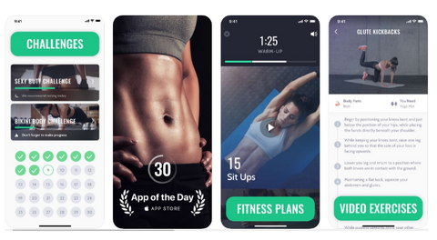 30 day fitness Challenge : Best Fitness Apps 2019