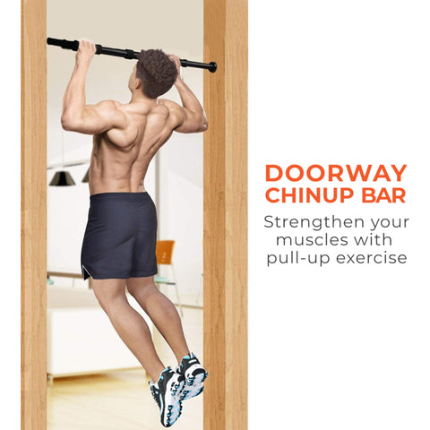 Chin ups with pull up bar