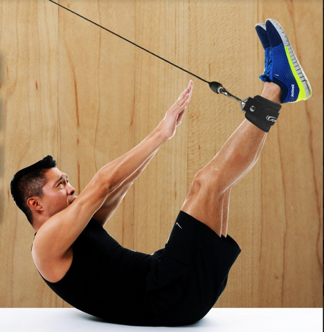 Best exercises using ankle straps