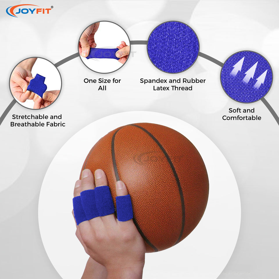 Finger Support with Effective Cushioning for Sports and Fitness Activities (Pack of 5)