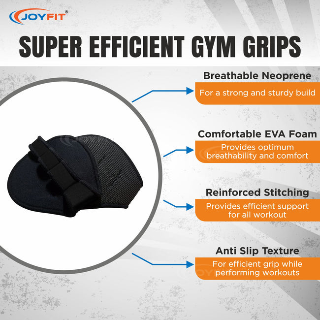 Gym Grip for Weightlifting (Black)