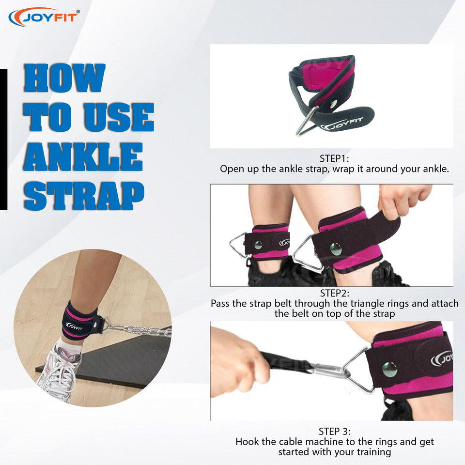 How to use ankle strap