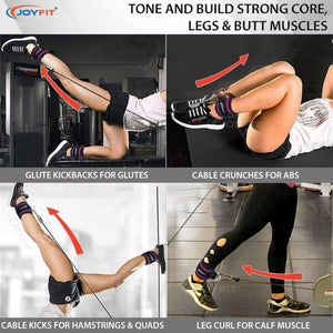 Exercises with ankle strap
