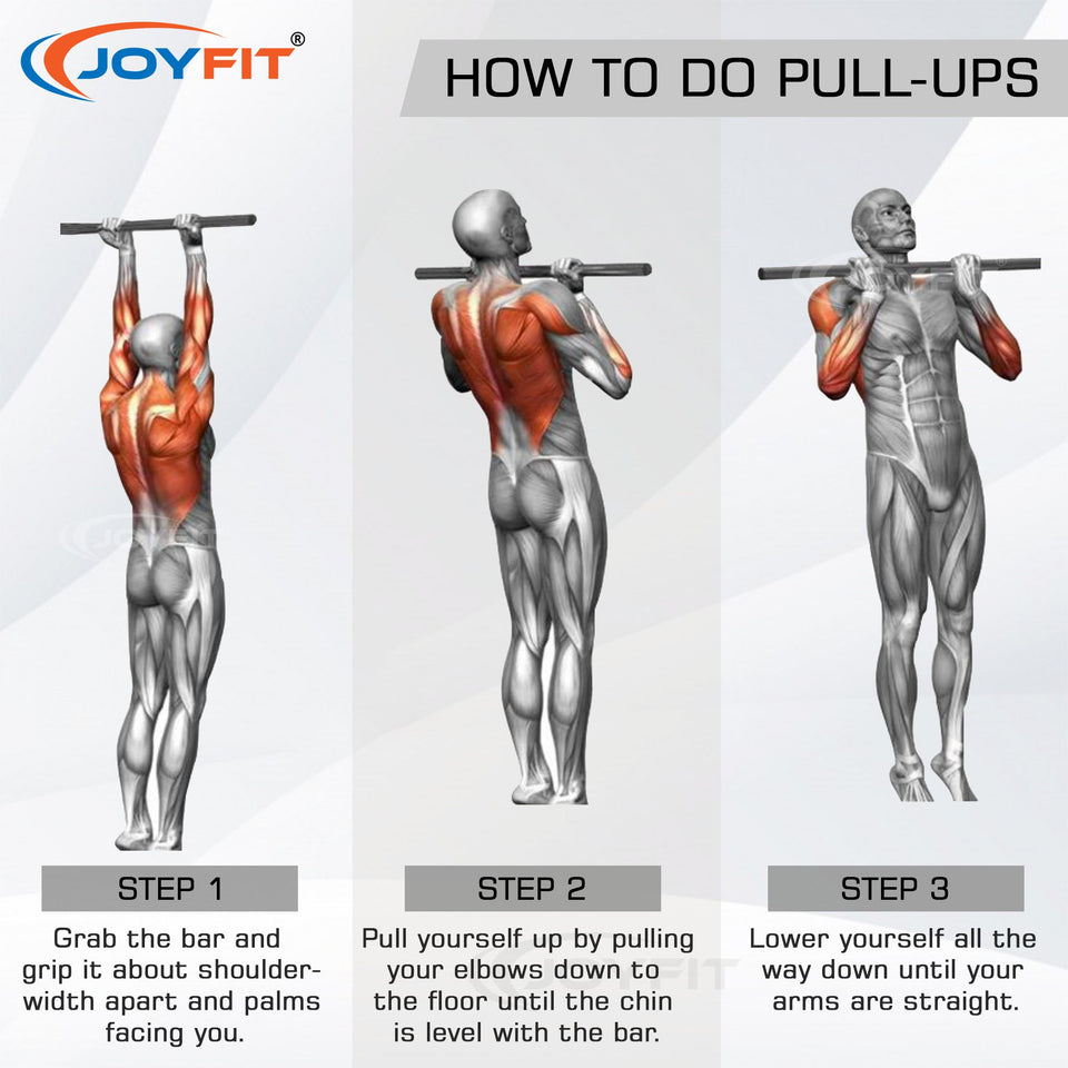 How to do pull ups