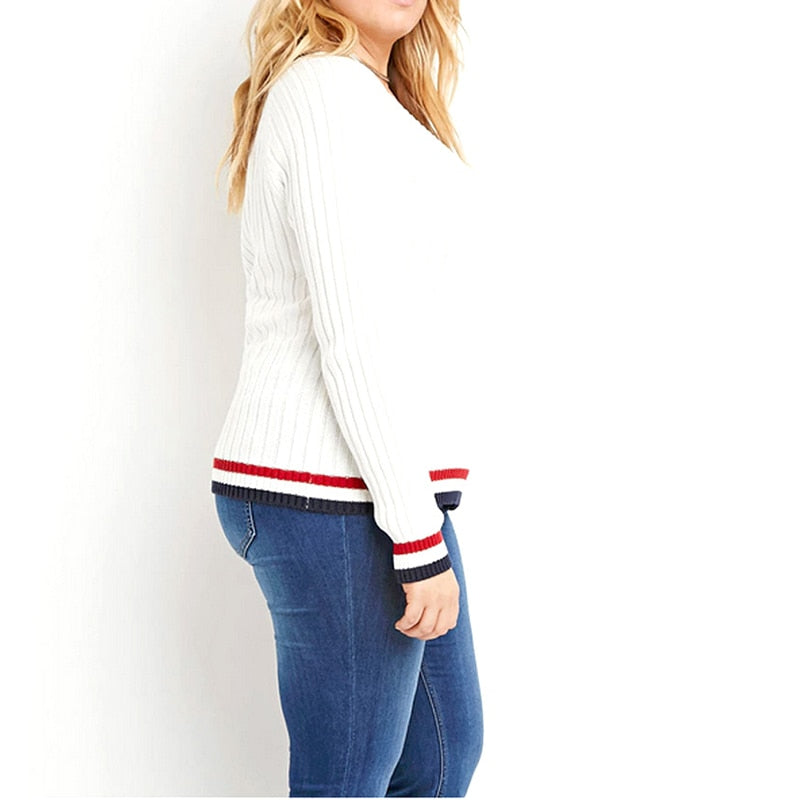 Peace Monet- Casual Long Sleeve Sweater -