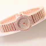 Peace Monet- Diamond Rhinestone Wristwatch -