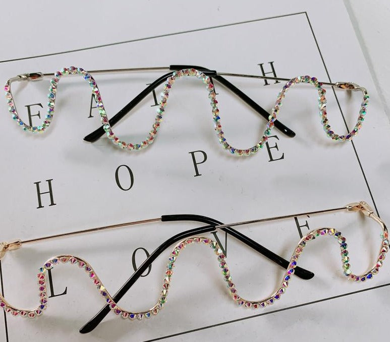 Peace Monet- Diamond Wave Frames -