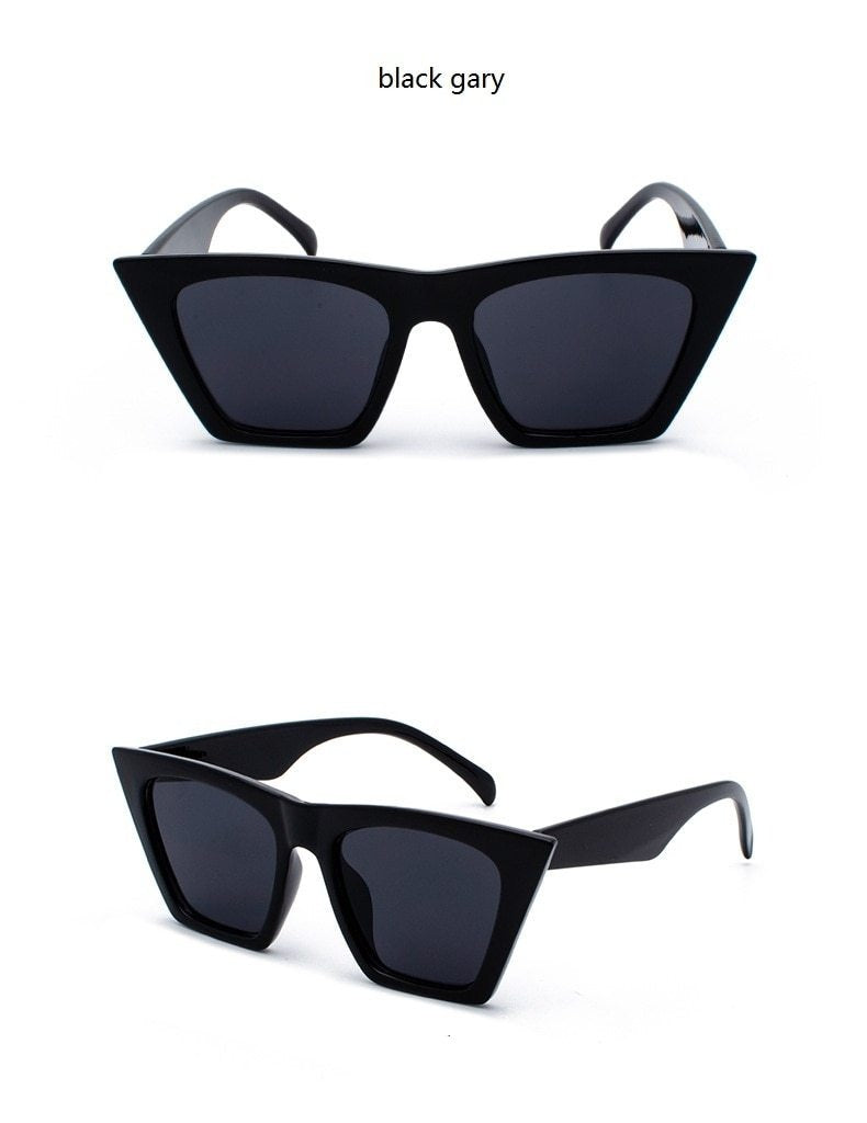 Peace Monet- Square cat eye sunglasses -