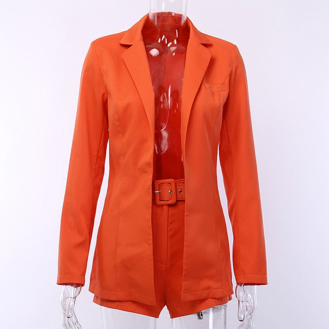 Peace Monet- Blazer Suit Shorts and Jacket -