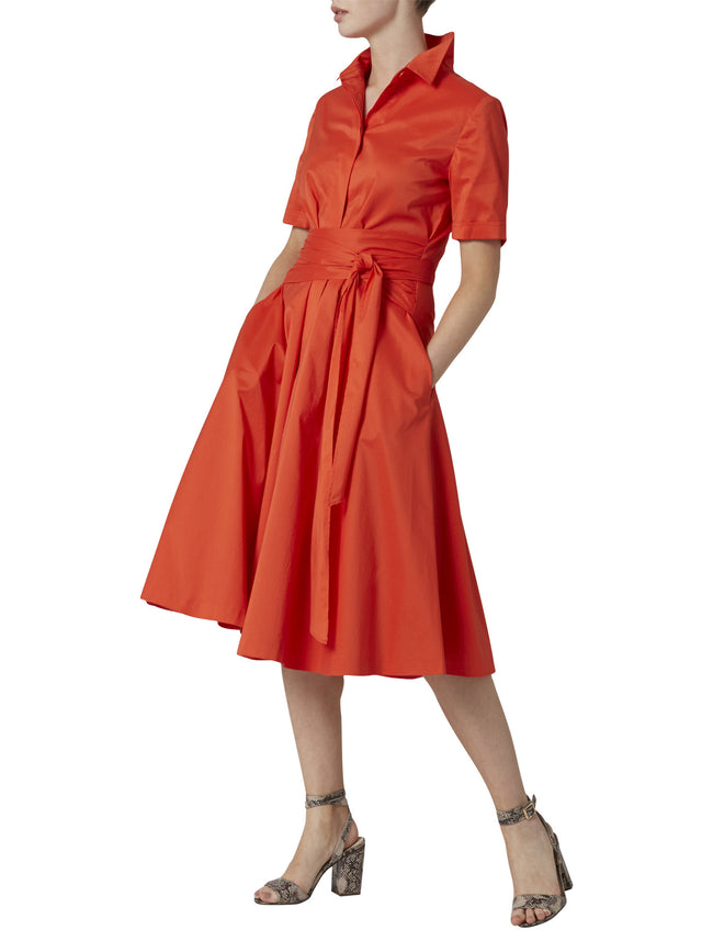 Marion Orange Dress