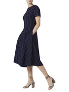 Vera Navy Dress