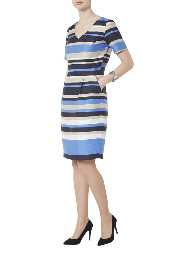 Astrid Stripe Dress