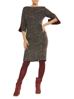 Vivienne Multicolour Boucle Dress