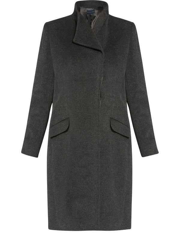 Linda Anthracite Coat