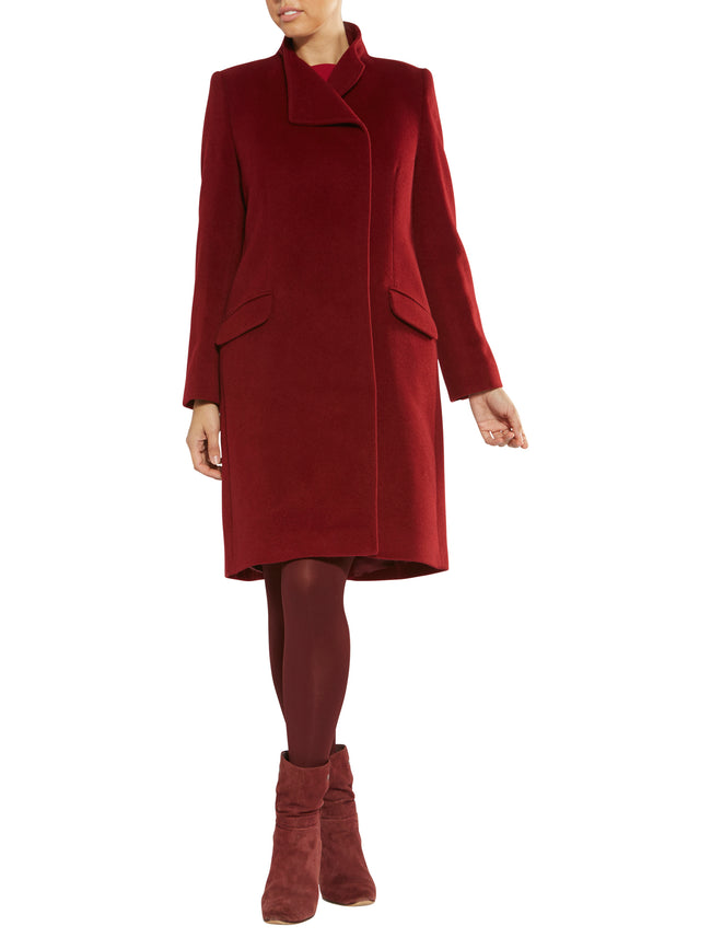 Linda Ruby Red Coat