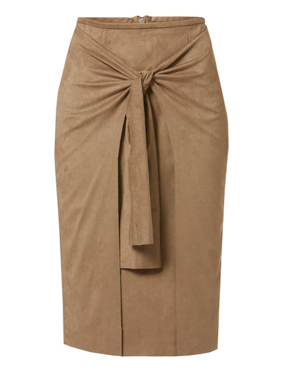 Carrie Camel Skirt