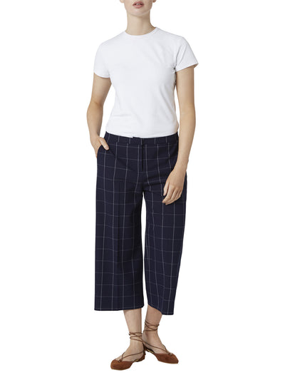 Rosanna Windowpane Crop Trouser