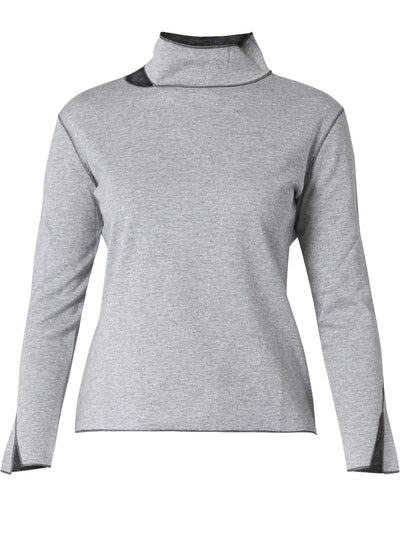Deconstructed Grey Top