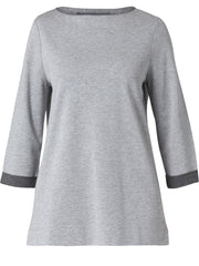 Tunic Grey Top