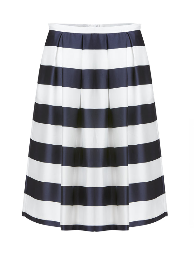 Audrey Stripe Skirt