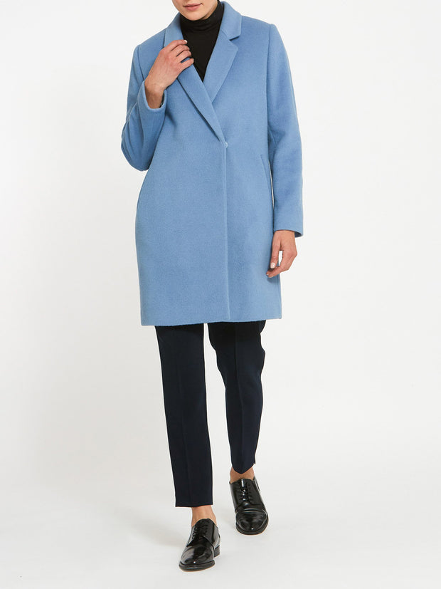Amanda Pale Blue Coat