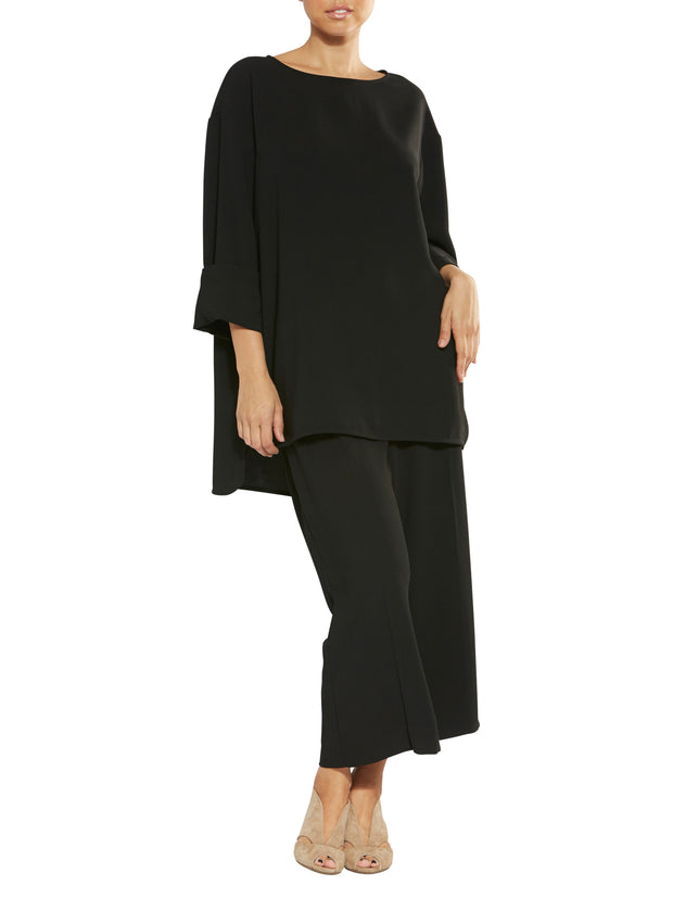 Hallie Black Tunic