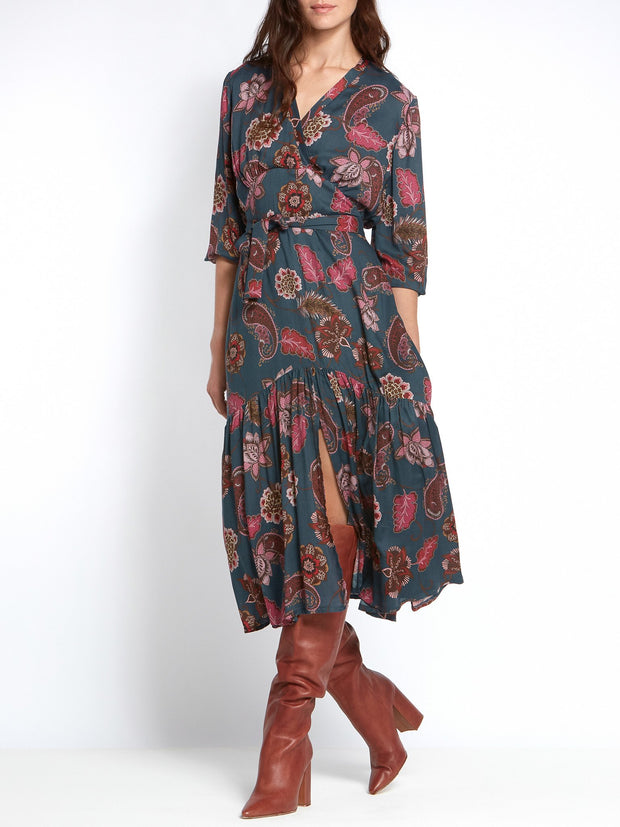 Beverley Paisley Dress