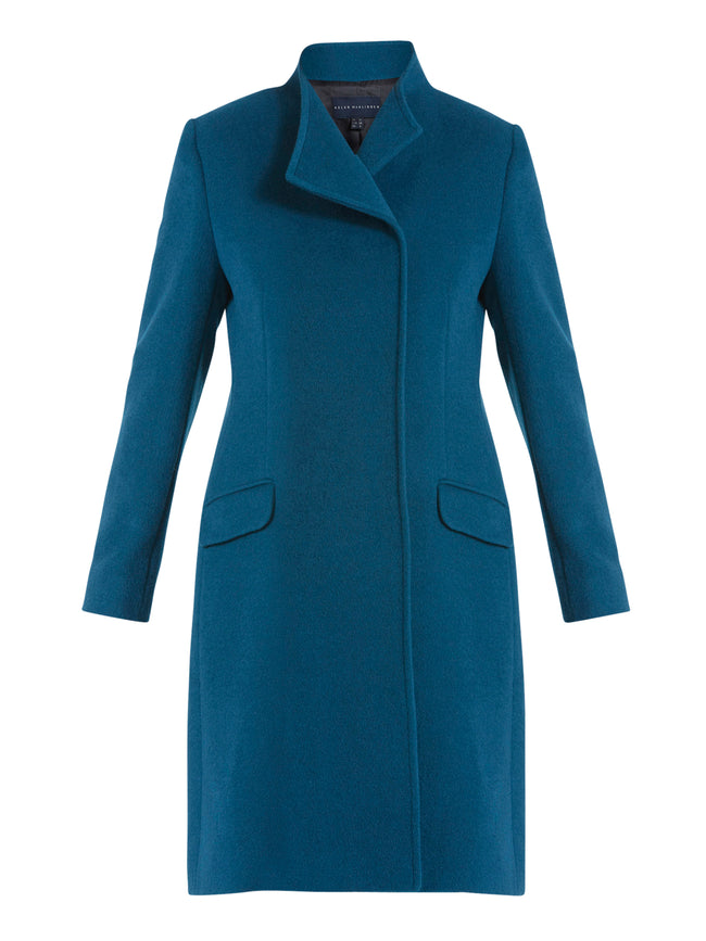 Linda Teal Coat