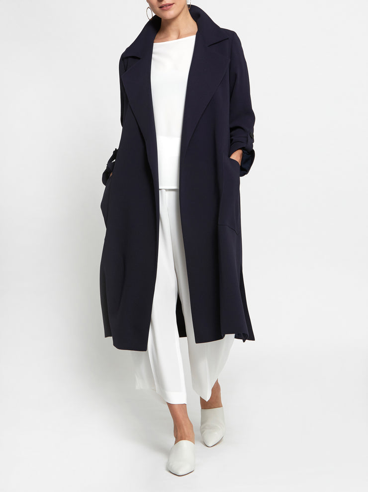 Lydia Navy Trenchcoat