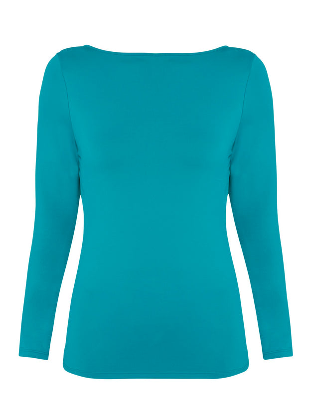Grace Turquoise Top