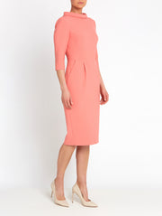 Catherine Coral Dress