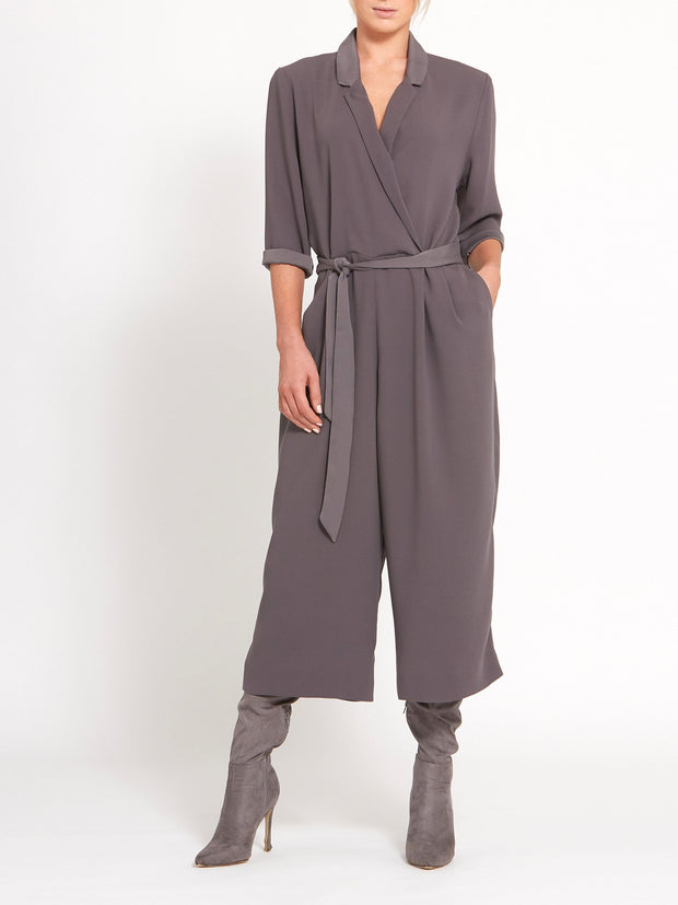 Billie Grey Jumpsuit