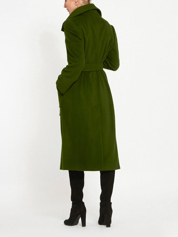 Meghan Hunter Green Coat