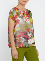 Lucy Print Blouse
