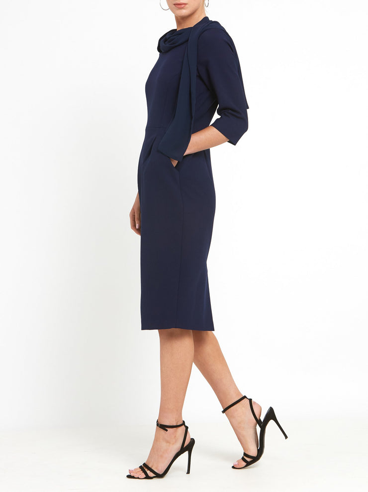 Ivy Navy Dress