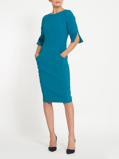 Vivienne Teal Dress