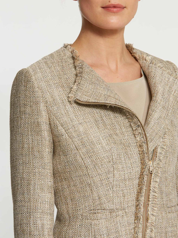 Blair Gold Boucle Jacket
