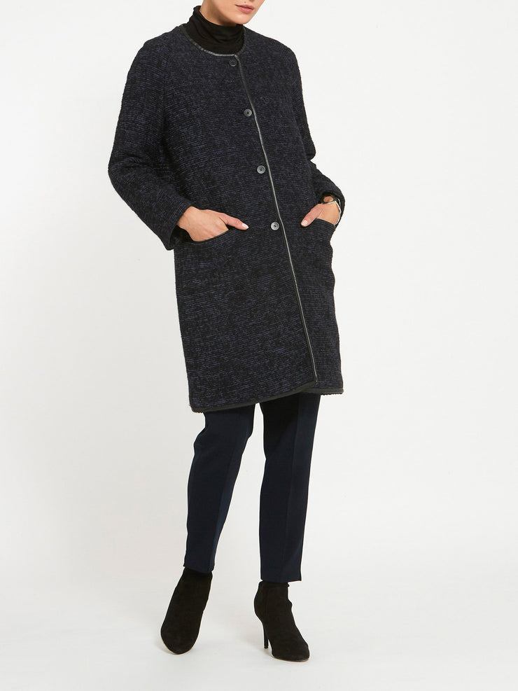 Fern Bouclê Coat