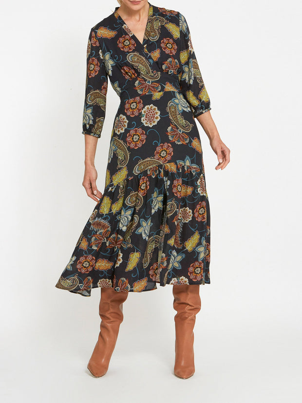 Beverley Printed Dress