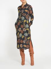 Kriss Printed Shirt Dress